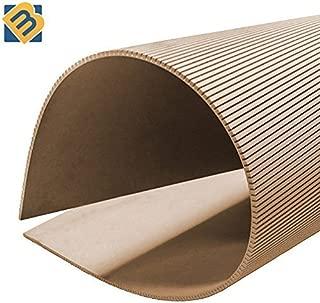Builder Merchant CNKLJ0011 Cross Grain Flexible MDF Board, Wood, 6 x 1220 x 1220 mm
