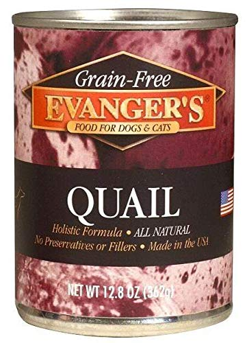 Best Bargain Evangers Grain-Free Quail for Dogs & Cats 6 Oz