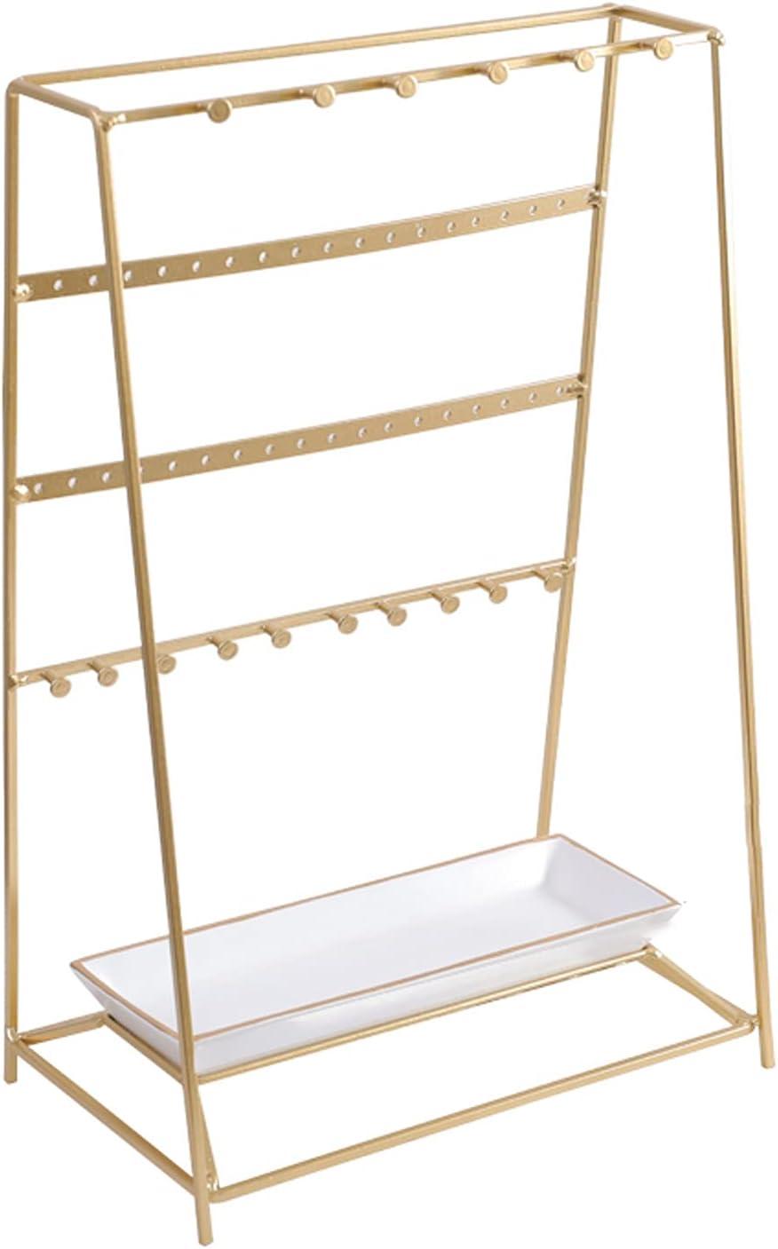 Spasm price Tingting1992 Jewelry Organizer Stand Jewel Table Dressing Max 87% OFF Golden
