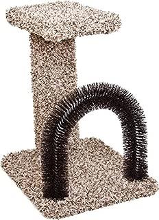 Ware 089669 Kitty Brush-N-Perch Natural, 13.5X15.75X20.5