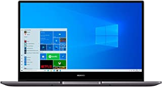 HUAWEI MateBook D 14 Laptop, Full View 1080P FHD Ultrabook, Intel Core i5-10210U, RAM 16GB, SSD da 512GB, Windows 10 Home,...