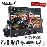 SEETEC P133-9HSD 13.3 Inch 4K HMDI Broadcast Monitor Professional LCD Director Studio Production Monitoring IPS Screen Aluminum Design