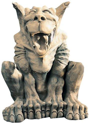 Design Toscano OS68933 Leo The Laughing Gargoyle Statue,Gothic Stone