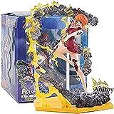 WXxiaowu Figuarts Zero EX One Piece Anime One Piece Nami Portrait of Pirates Edición Limitada PVC Figura de acción de colección Modelo de Juguete