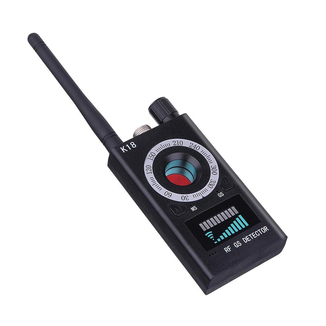 お金引くそのMYRIANN 隠しカメラ盗聴盗撮器発見器 GPS追跡設備 無線電波 盗聴盗撮 検知器 盗聴盗撮防止 日本語説明書付き(ブラック)