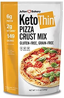Keto Thin Pizza Crust Mix (Low Carb | Gluten-Free | Grain-Free) (Makes One 14