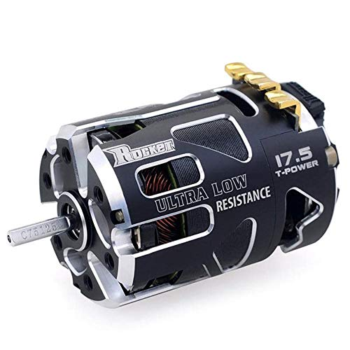 Surpass Hobby Rocket V5R 10.5 Stock Spec Brushless Racing Motor for 1/10th Scale RC Cars, Buggies, Trucks and More.