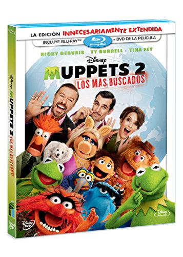 Muppets 2: Los Más Buscados (BR + DVD Combo Pack) [Blu-ray]