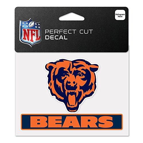 chicago bear stickers - 5
