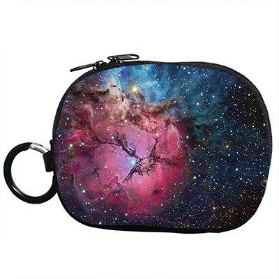 Custom Galaxy Star Coin purse (Twin Sides )