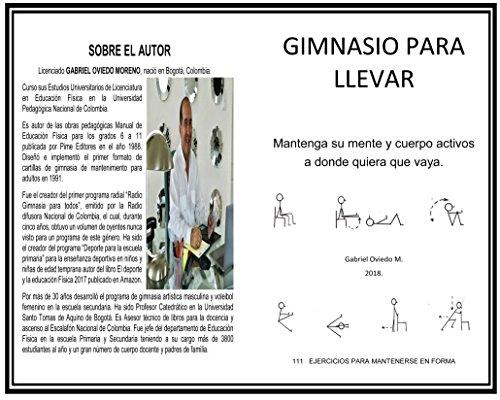 GIMNASIO PARA LLEVAR: EJERCICIOS PARA HACER EN CASA (EJEJRCICOS PARA HACER EN CASA)
