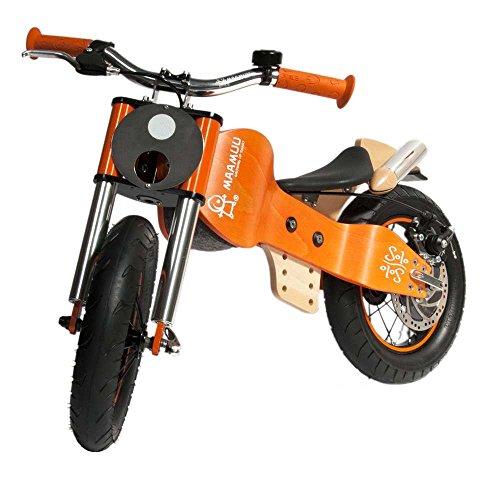 MAAMUU Laufrad Solo Orange Made in Italy