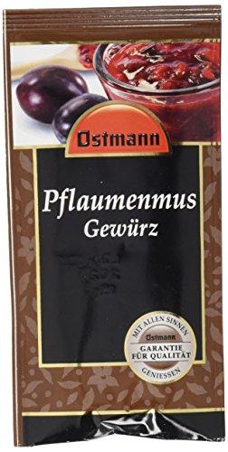 Ostmann Pflaumenmus Gewürz, 15er Pack (15 x 15 g)