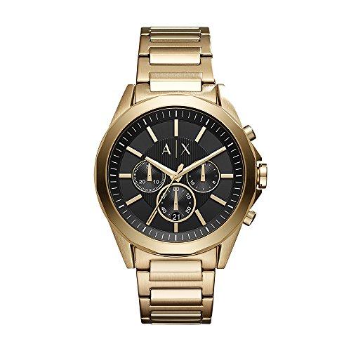 Armani Exchange Reloj Cronógrafo para Hombre de Cuarzo con Correa en Acero Inoxidable AX2611