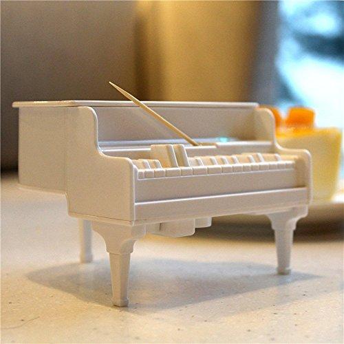 Inovey Honana DX-F2 Creative Automatische UV-Sterilisation Klavier Zahnstocher Halter Tisch Dekorartikel