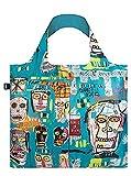 LOQI LOQI Jean Michel Basquiat Skull Bag - Bolso de Viaje con asa (50 cm), diseño de Calavera