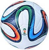 Wridex THE BEST CHOICE Brazuca Glider Match Rubber Football (Size: 5 , Multicolour)