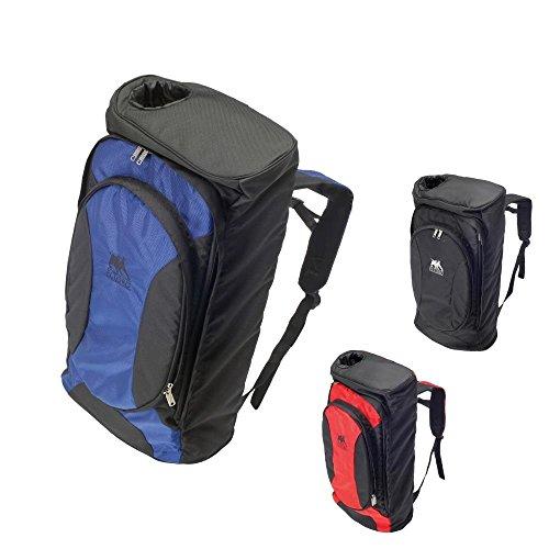 elToro Travel Pro Rucksack für Recurvebögen - schwarz