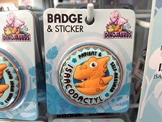 IsaacDinosaurus Badge nominatif personnalisable