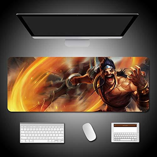CSQHCZS-SBD Alliance Mouse Pad Oversized Tafel Pad Gaming Bureau Pad Toetsenbord Toetsenbord Pad, Antislip Rubberen Basis, E-sport Grote Mate-400 X 900 mm / 300X800mm A+++++