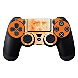 MightySkins Skin Compatible with Sony PS4 Controller - Red Chalk Man Portrait | Protective, Durable, and Unique Vinyl Decal wrap Cover | Easy to Apply, Remove, and Change Styles | Made in The USA