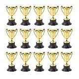 iplusmile 優勝カップ トロフィー賞トロフィー プライズカップ 早期学習おもちゃ賞品 ご褒美 キッズ 子供 大人 プラスチック製 誕生日 プレゼント 20個セット