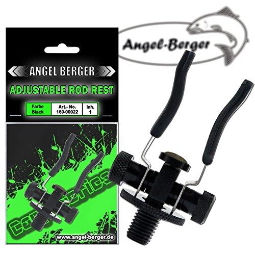 Angel-Berger Black Adjustable Rod Rest