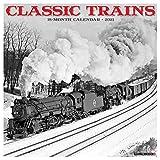 Classic Trains 2021 Wall Calendar