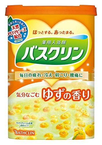 バスクリン ゆずの香り 600g 入浴剤 (医薬部外品)