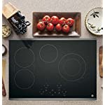 GE JP5030SJSS 30 Inch Smoothtop Electric Cooktop with SyncBurner, Keep Warm, Digital Touch Controls, 4 Radiant Elements, Built-in Timer, Melt Setting, ADA Compliant Fits Guarantee 8 JP5030SJSS