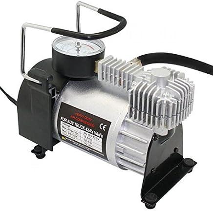 Swastik 12V - 150 PSI Heavy Duty Air Pump - Electric Car Bike Metal Air Compressor Pump