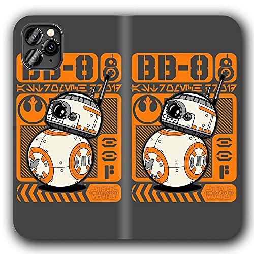 Funda iPhone 11 Pro MAX Anti-Shock TPU Flip Leather Case Sta r WA RS Ma nD La lO Ria n G-1512