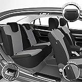 DBS Housse de siège Auto/Voiture - sur Mesure - Finition Haut de Gamme - Montage Rapide - Compatible Airbag - Isofix - 1012948