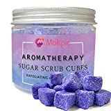 MOKPIC Body Scrubs for Women Exfoliation- Sugar Scrub Cubes, Exfoliating Body Scrub Exfoliator Moisturizing, Gifts for Women Mom - 12 Oz