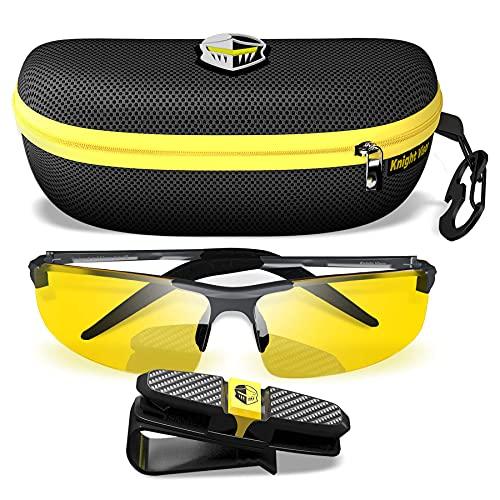 BLUPOND Night Driving Glasses For Men/Women -...