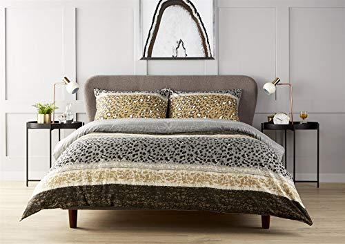 Olivia Rocco Bettwäsche-Set Zara mit Tiermuster, für Einzel-, Doppel- und King-Size-Betten, Baumwollmischung, Zara Multi, Doppelbett