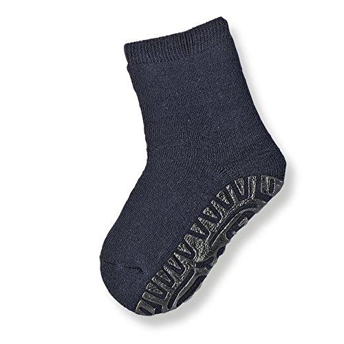 Sterntaler Fliesen Flitzer Soft, Mädchen Socken,Blau (Marine 300), Gr.21/22 (Herstellergröße: 18-24 Monate)