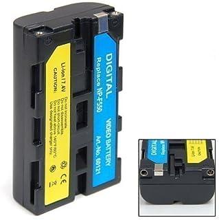 ET - Batería para cámaras de vídeo Sony-NP-F550 y Sony EVO-250