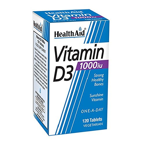 HealthAid Vitamin D3 1000iu Tablet Pack of 120