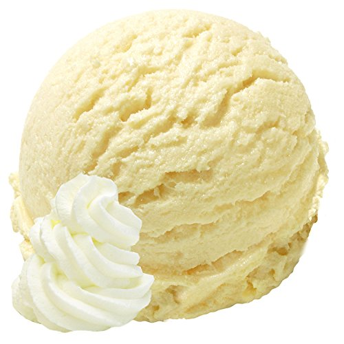 Sahne Geschmack 1 Kg Gino Gelati Eispulver Softeispulver für Ihre Eismaschine