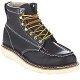 EVER BOOTS 'Weldor Men's Moc Toe Construction Work Boots Wedge Soft Toe Wide Width (10.5 (EE),...