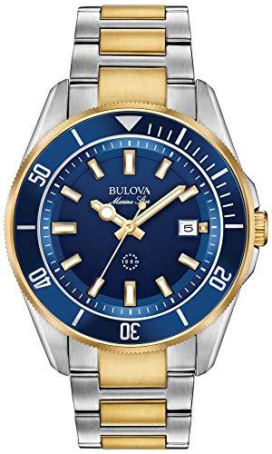 orologio solo tempo uomo Bulova Marine Star casual cod. 98B334