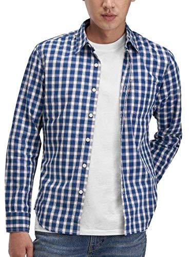 Levi's Classic 1 Pkt Slim Camisa, Nash Cloud Dancer, XL para Hombre