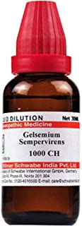 Willmar Schwabe Homeopathy Gelsemium Sempervirens (30 ML) (Select Potency) by USAMALL (1000 CH (1 M))