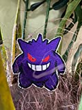 Handmade Cute Powerful Gengar with Iron-on Patch
