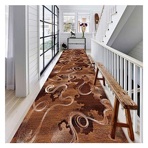 Alfombra Alfombras Pasillo de la alfombra del pasillo tiras de la escalera alfombra del hogar bellamente decorado patrón antideslizante a prueba de polvo para proteger el piso Cocina Sala Estar Dormit