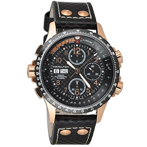 Hamilton Men's Watches X-Wind H77696793 - WW, Black