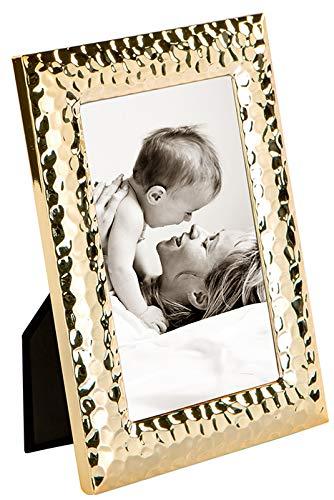 Fink Fotorahmen Cleo - Gold-Farben - zum Stellen und Hängen - Format 10x15 cm