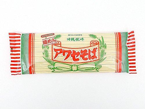 【沖縄そば乾麺(細めん)】アワセそば
