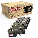 Matsuro Original   Compatible Cartucho de Toner Reemplazo para DELL C1660 (1 Set + 1 BK)
